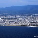 Abflug von Osaka