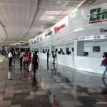Busbahnhof im Norden von Mexiko Stadt