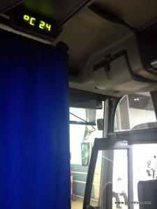 Unser Nachtbus - leider nicht so bequem wie die Nachtbusse in Vietnam, aber ok