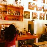 In San Cristobal gab es zur Belohnung gleich mal einen leckeren Cappuccino