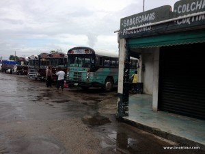 Busstation in Chetumal - von hier aus fahren die Busse nach Belize