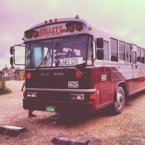 "Mein ""Express-Bus"" nach Belize"