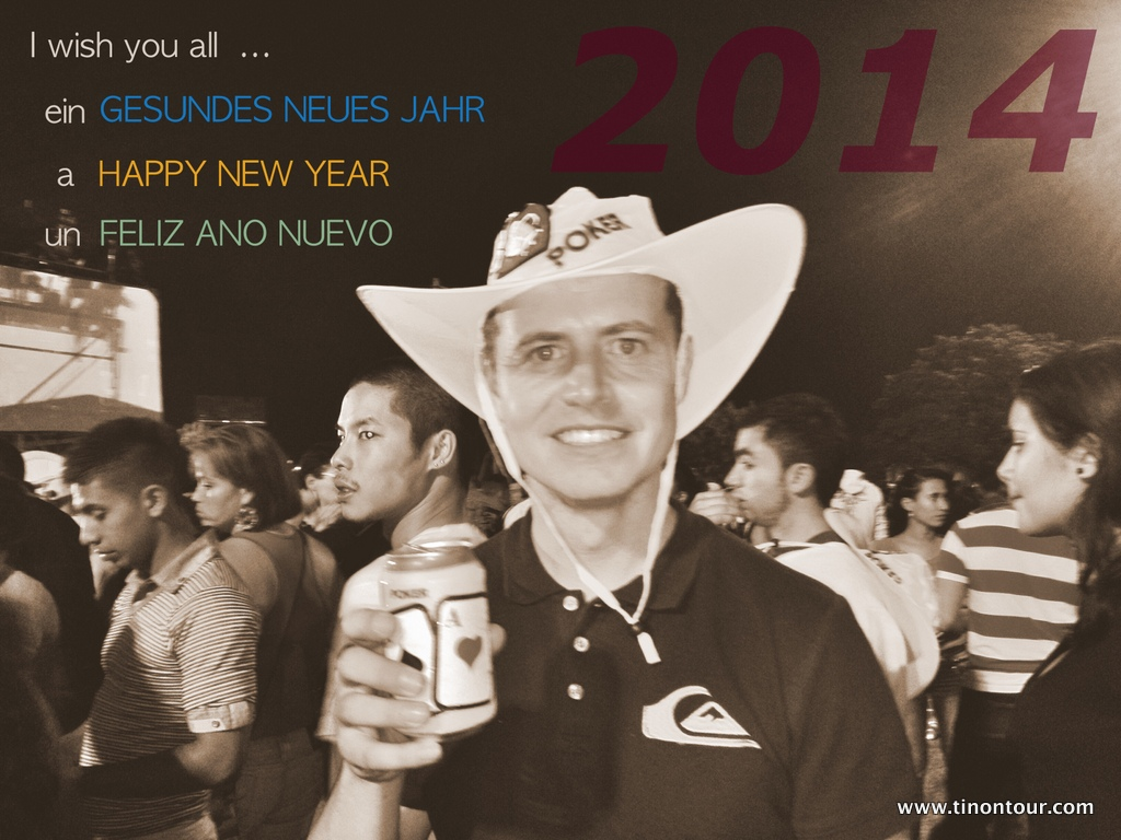 Gesundes neues Jahr **** Happy New Year **** Feliz ano nuevo