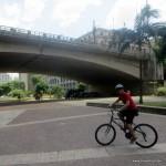 Eine Fahrradtour durch Sao Paulo - in kurzer Zeit viel gesehen ...