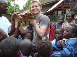 Nicht nur die Kleinen - auch ich - hatten Spaß im Tierpark