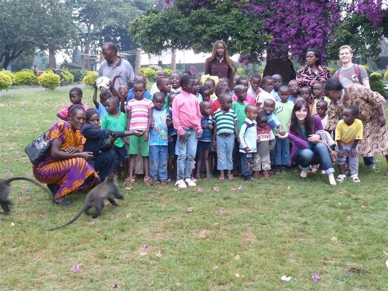 Abschlussbild im Park von Nairobi