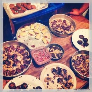 Das Ergebnis unserer Weihnachtsbäckerei