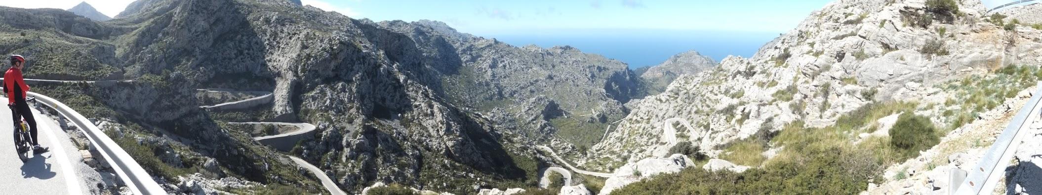 Torrent de Pareis Mallorca - sieht ja schon geil aus ... aber mit dem Auto hoch wäre der Ausblick von oben doch genauso schön *lol*
